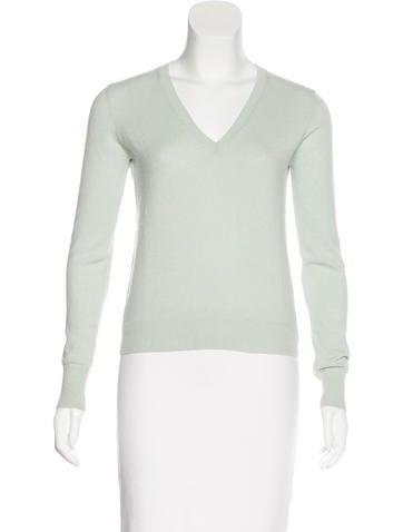 Prada Lightweight V-Neck Sweater None