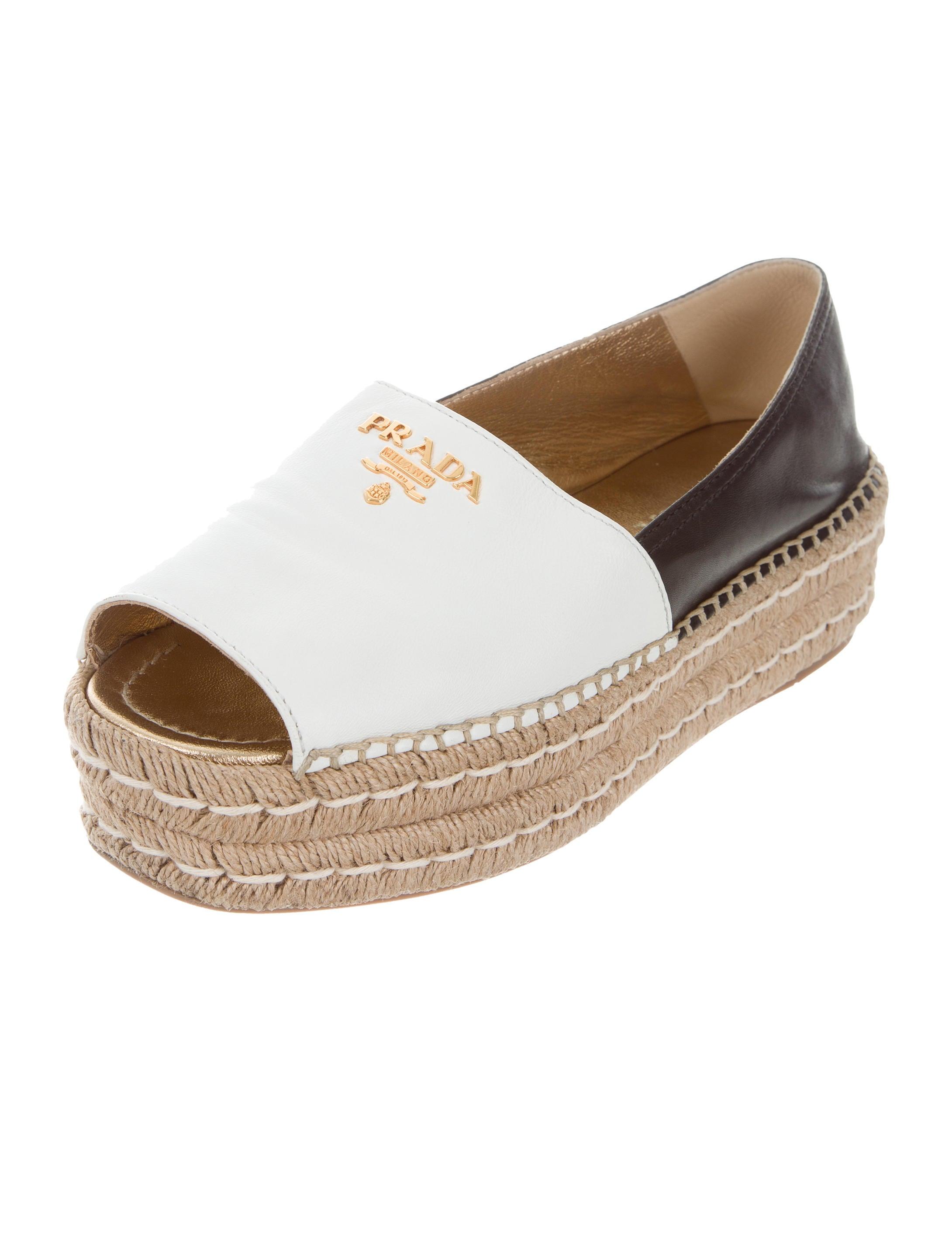 White Prada Shoes