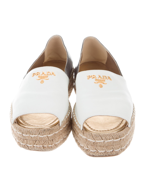 Black White Platform Peep Toe Shoes