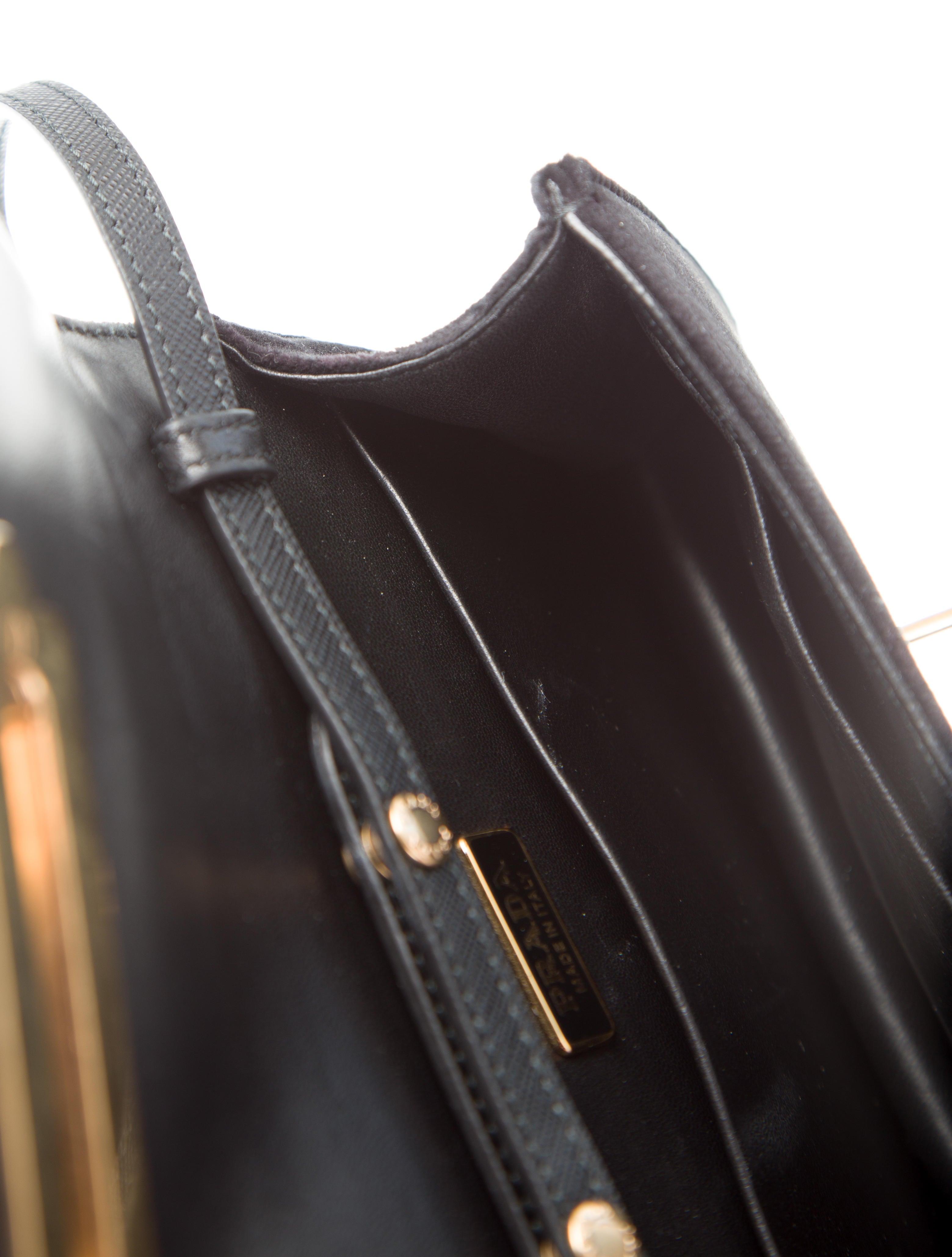 6f780f09e0f0 Prada 2016 Small Velvet Astrology Cahier Bag - Handbags - PRA170140 | The  RealReal