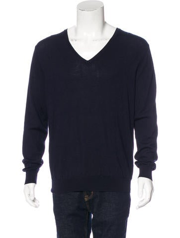 Prada 2011 Wool V-Neck Sweater None