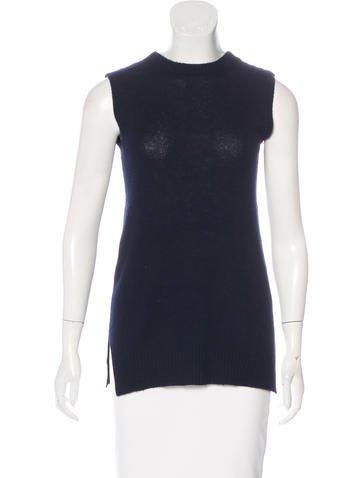 Prada Tie-Accented Knit Vest None