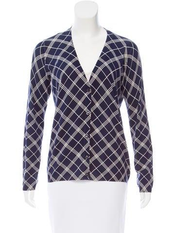 Prada Printed Knit Cardigan None