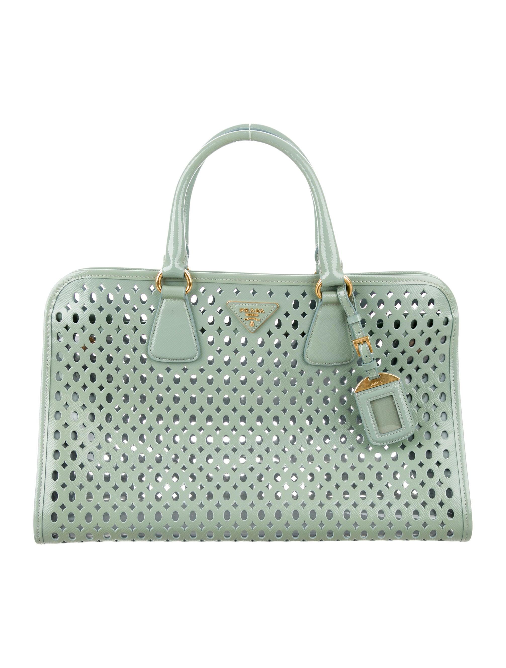 74c51b491e7b Prada Saffiano Vernice Fori Tote - Handbags - PRA173424 | The RealReal
