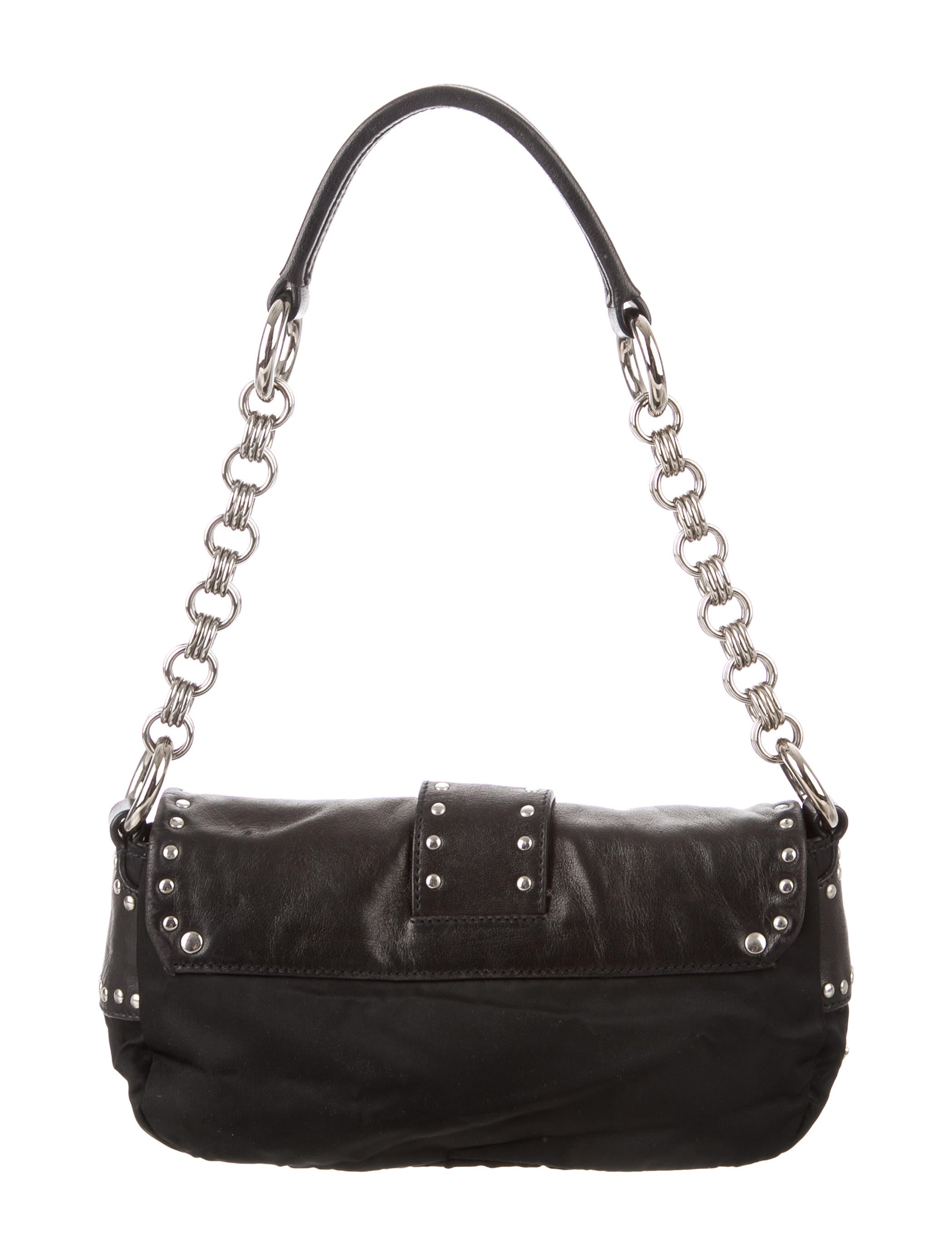 2e7a0b0732e2bd Prada Leather Baguette Bag | Stanford Center for Opportunity Policy ...