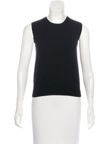 Prada Cashmere Knit Top None