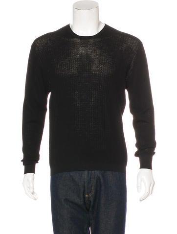 Prada Wool Crew Neck Sweater None