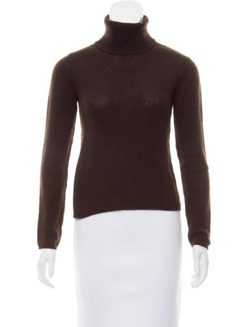 Prada Turtleneck Rib Knit Sweater None