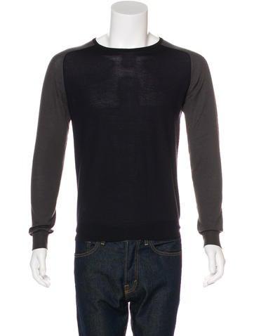 Prada Cashmere Crew Neck Sweater None