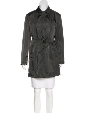 Prada Button-Up Short Coat None