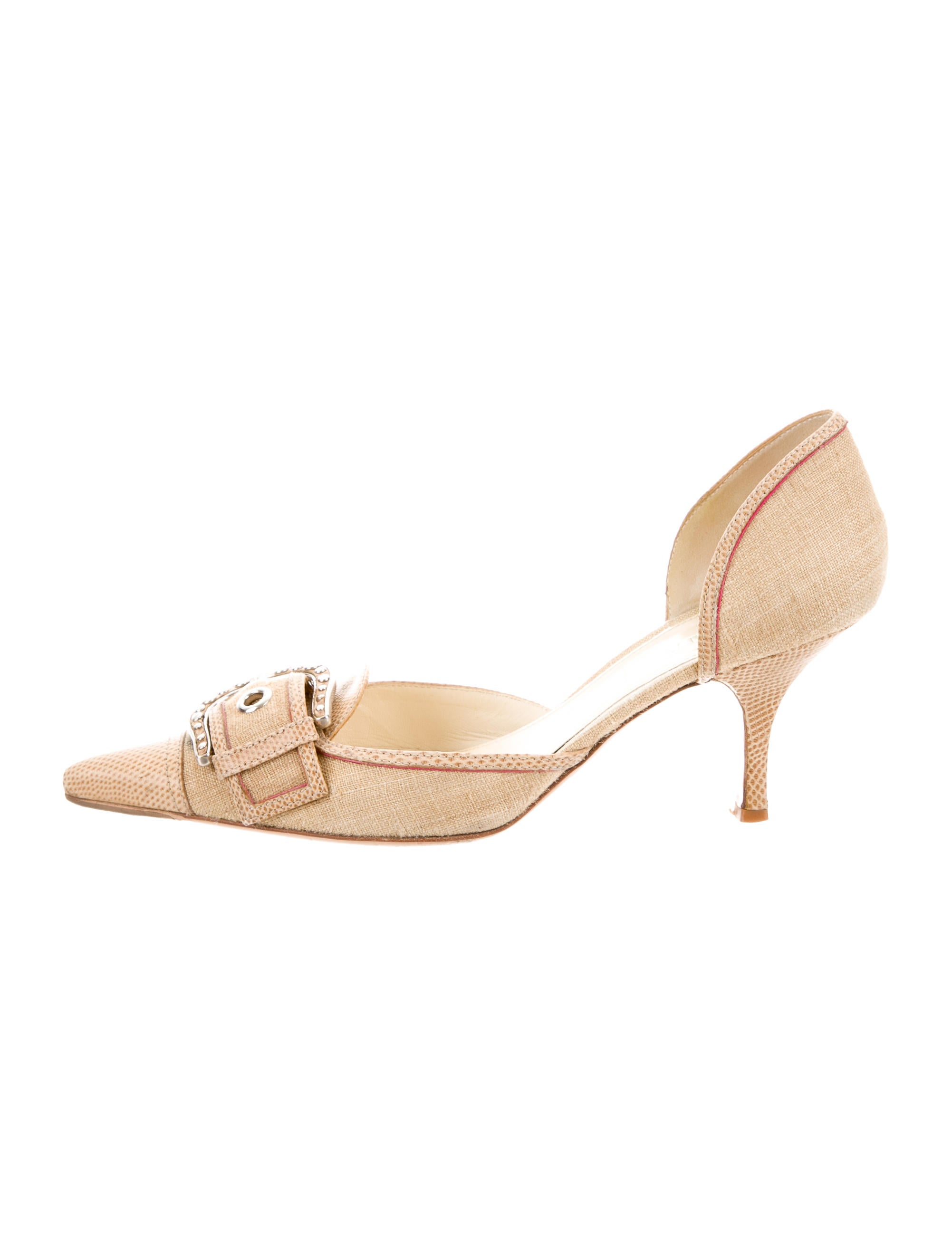 shop for online Prada Karung Slingback Pumps cheap sale low cost shop offer cheap price tHFw7Qv