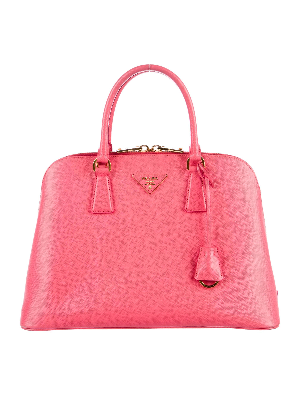 11256d46043b Prada Medium Saffiano Promenade Bag - Handbags - PRA176458 | The RealReal