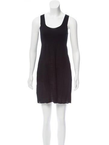 Prada Knit Mini Dress None