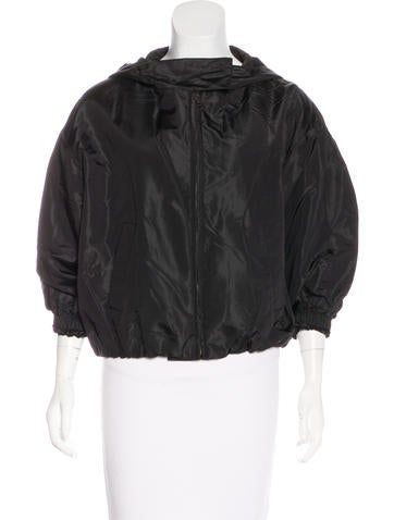 Prada Silk-Blend Jacket None