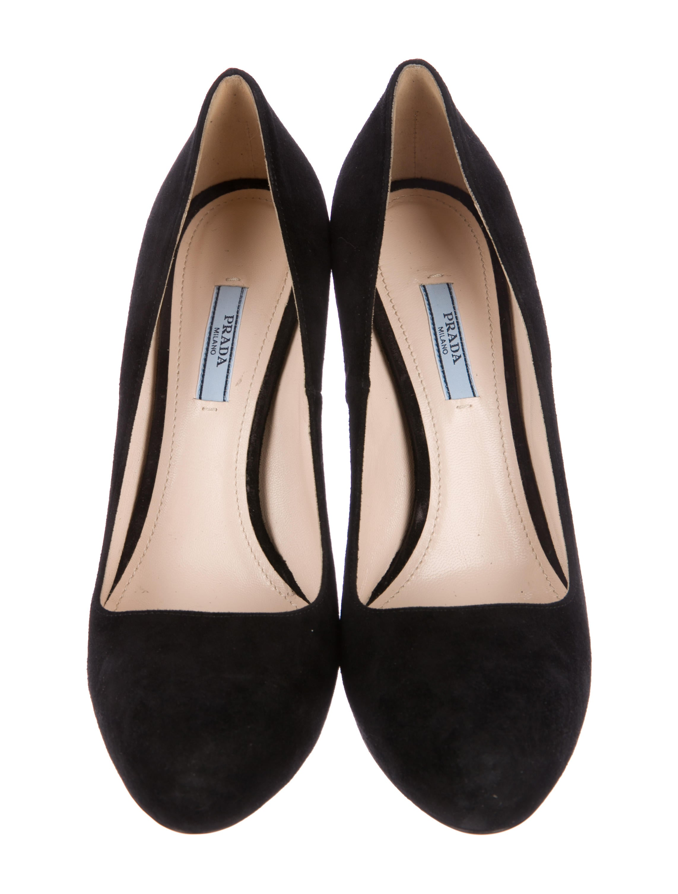 buy cheap perfect Prada Suede Round-Toe Oxfords clearance original free shipping exclusive clearance pre order m4WVf4yM