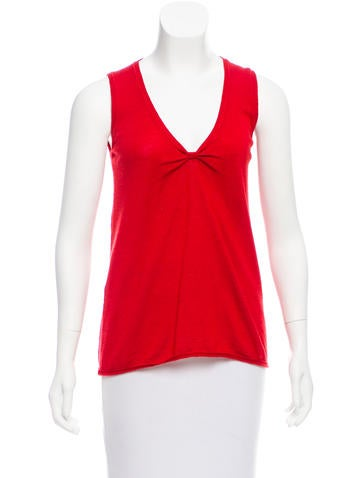 Prada Wool Sleeveless Sweater None