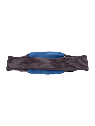 Prada Silk Rib Knit Headband w/ Tags None