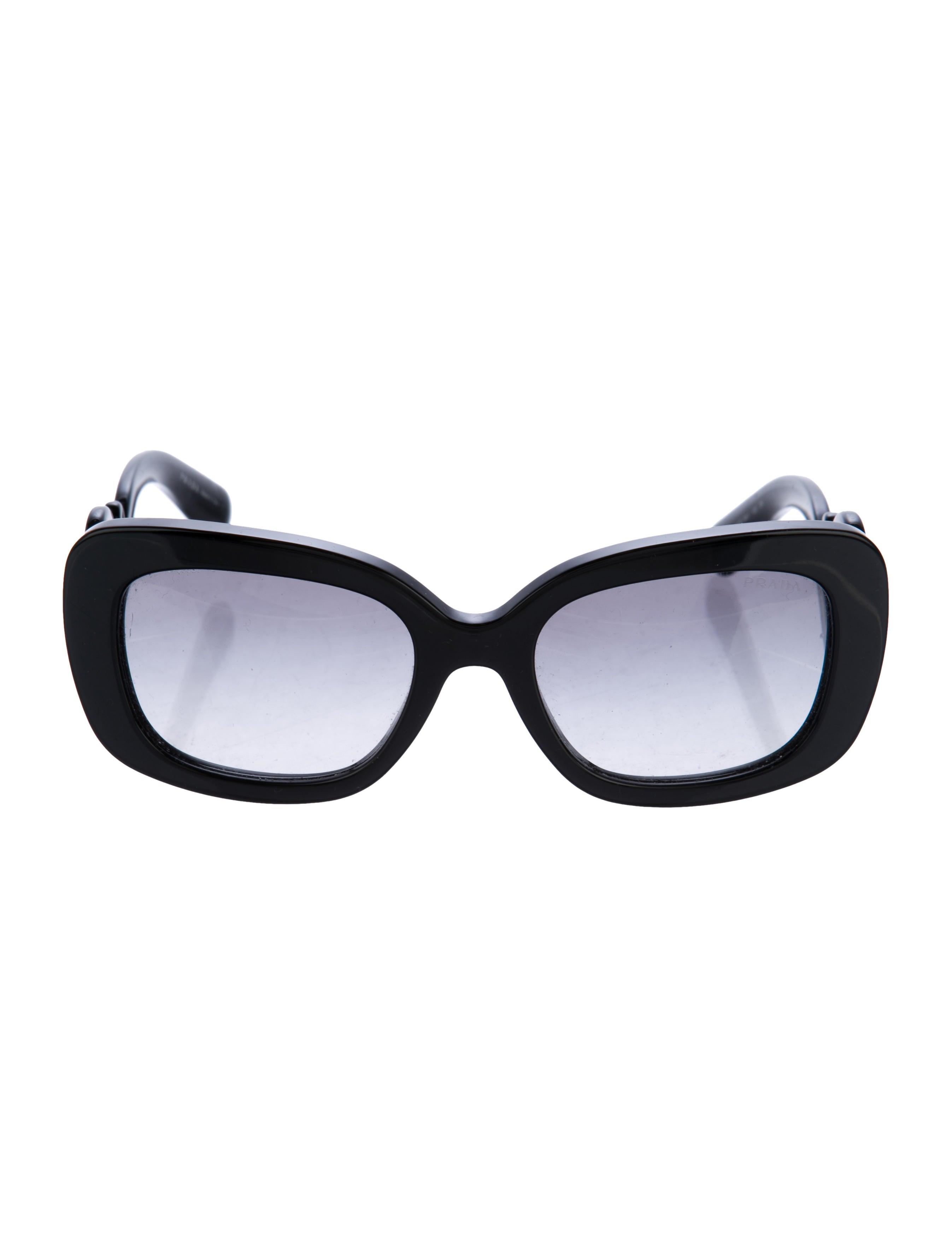 31fb699c3c29 Prada Baroque Square Sunglasses - Accessories - PRA178087
