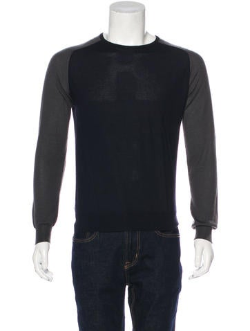 Prada Cashmere & Silk Sweater None