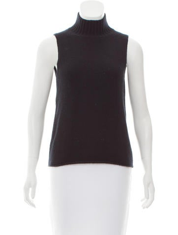 Prada Wool & Cashmere Turtleneck Sweater None