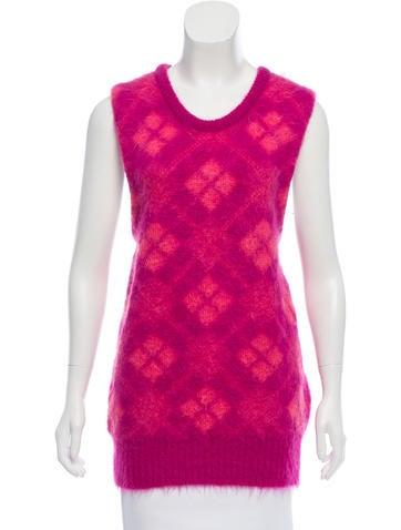 Prada Sleeveless Textured Sweater w/ Tags None