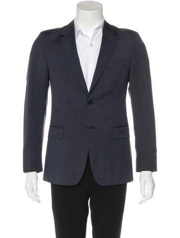 Prada Wool & Mohair Blazer None