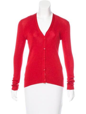 Prada Lightweight Knit Cardigan None