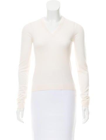 Prada Long Sleeve Knit Sweater None