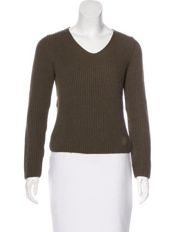 Prada Wool-Blend Sweater None