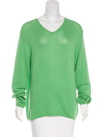 Prada Knit Cashmere Sweater None