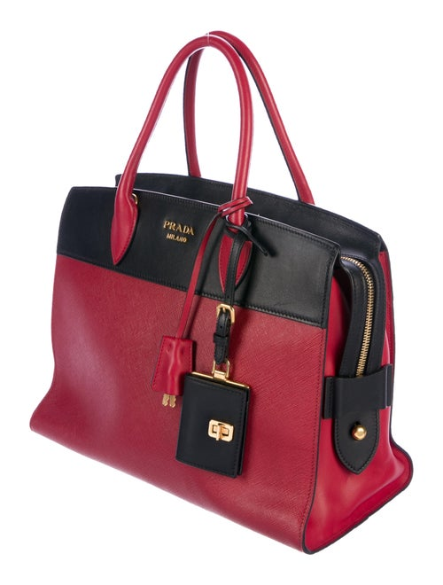 f9f09ce6206f9a Prada Large Saffiano City Esplanade Leather Tote - Handbags ...