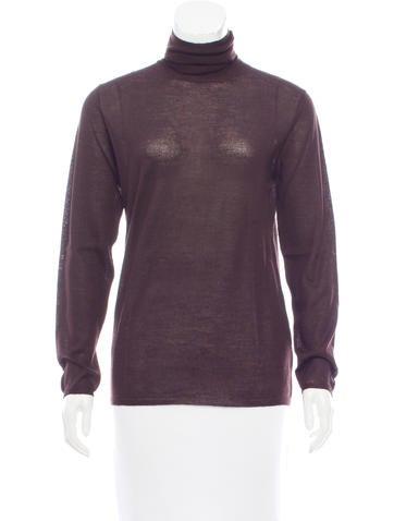 Prada Cashmere Long Sleeve Top None