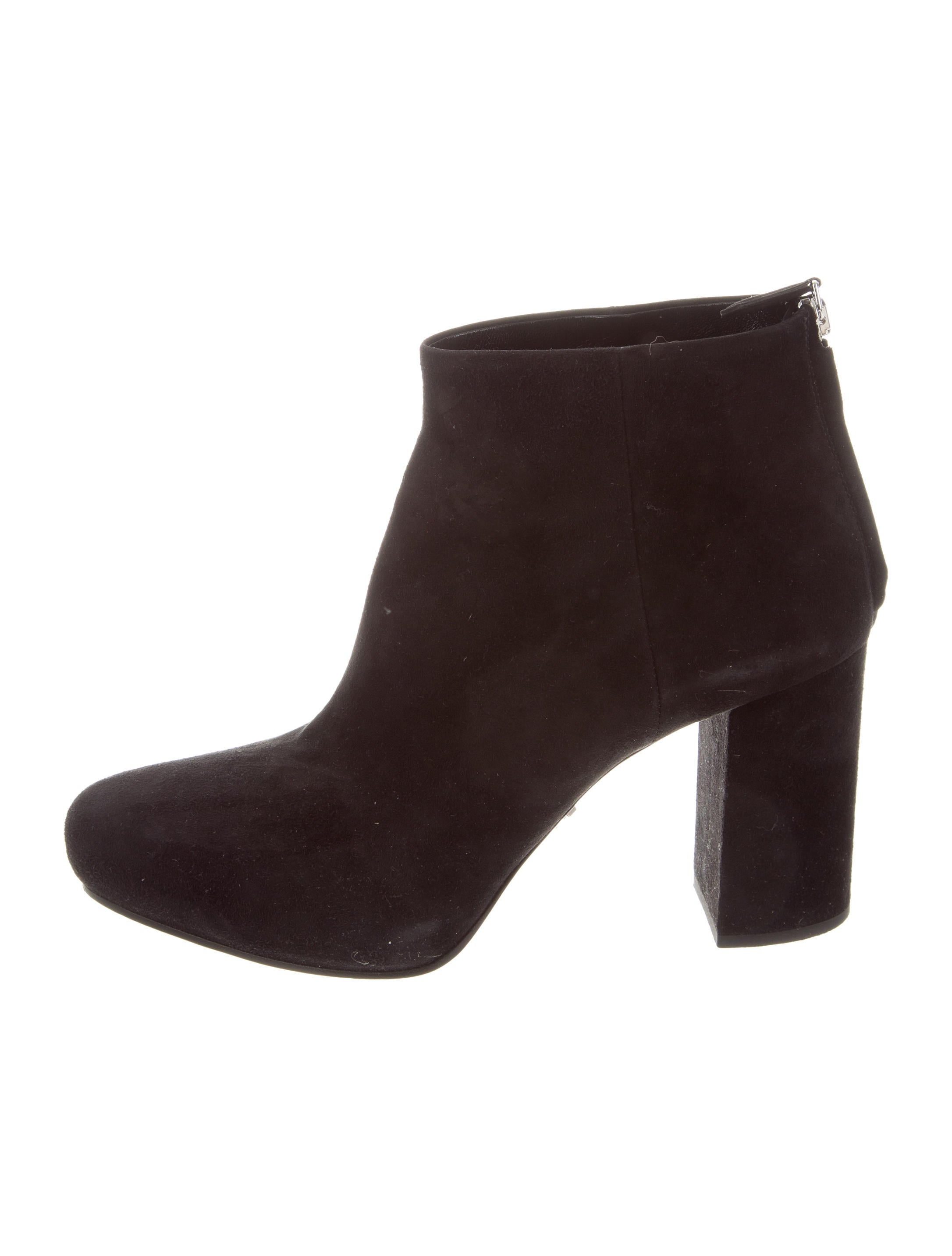 cheap sale newest Prada Suede Round-Toe Ankle Boots nicekicks online buy cheap for sale factory outlet cheap price classic cheap online hXXozdY