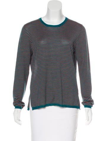 Prada Striped Knit Sweater None