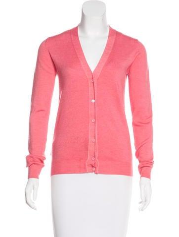 Prada Wool Long Sleeve Cardigan None