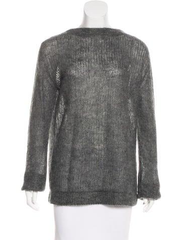 Prada Mohair Knit Sweater None