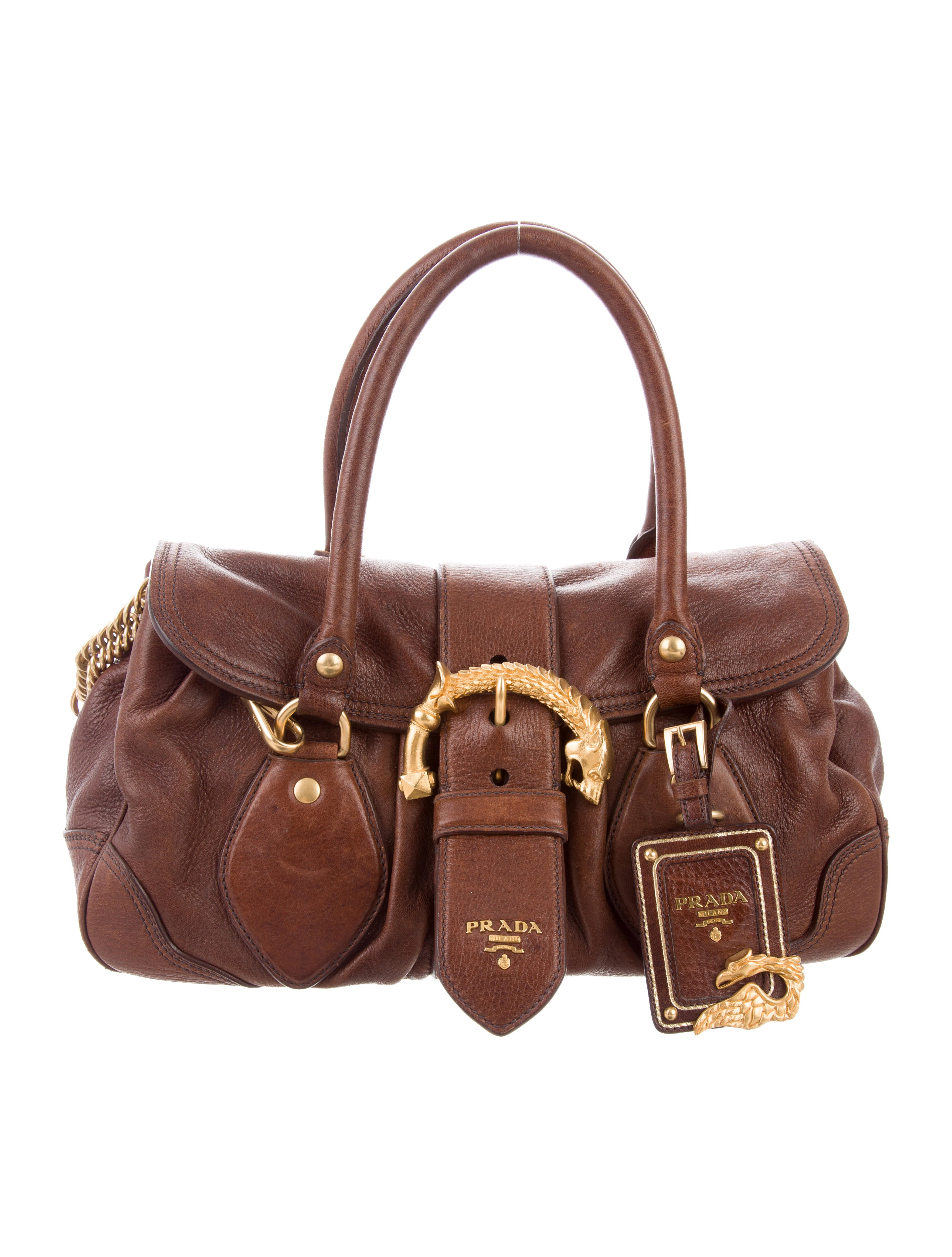 914babc1ca0a Prada Cervo Animalier Bag - Handbags - PRA184729