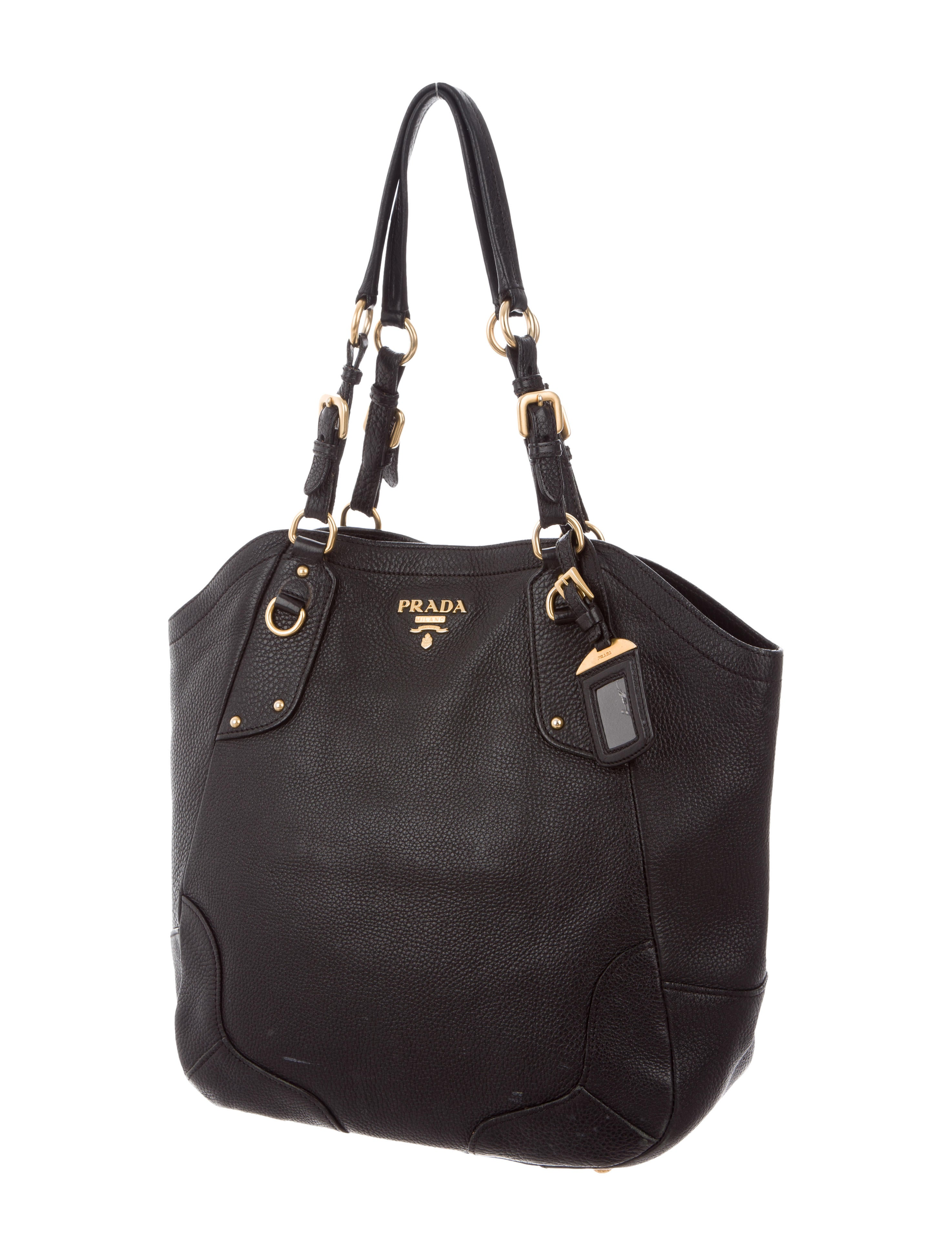 7900e20bd45f Prada Vitello Daino Shoulder Bag - Handbags - PRA185040