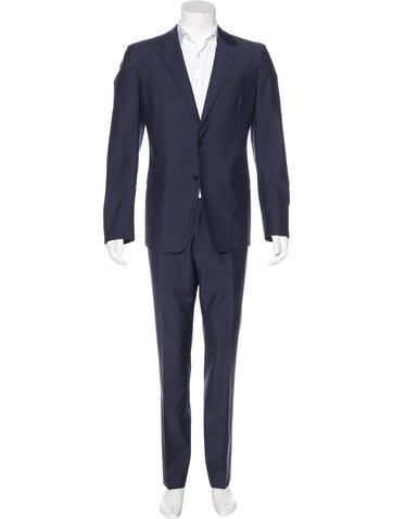 Prada Wool & Mohair Suit None