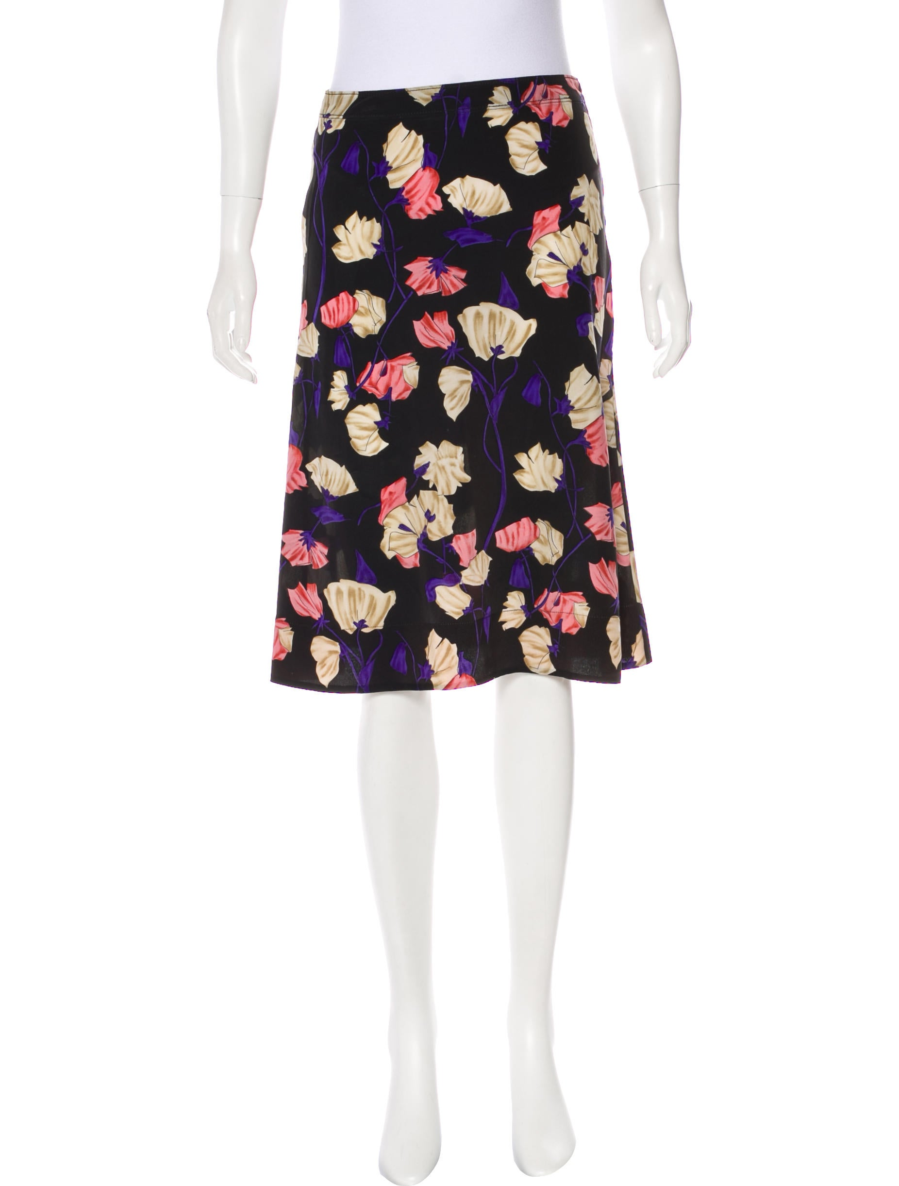 Shop For Sale Online Prada floral A-line skirt Buy Cheap Buy Quality Outlet Store Free Shipping Shopping Online Cheap Sale Sneakernews WZswO