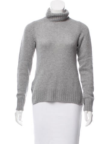 Prada Cashmere Turtleneck Sweater None