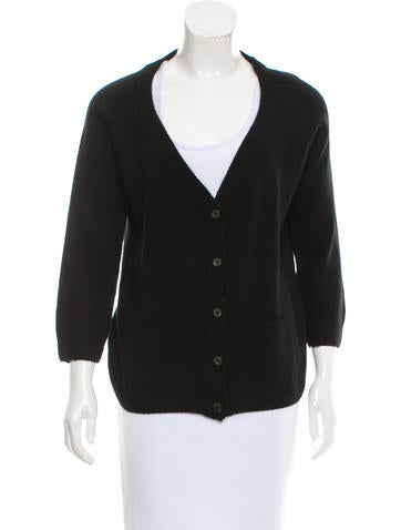 Prada Wool And Cashmere-Blend Cardigan None