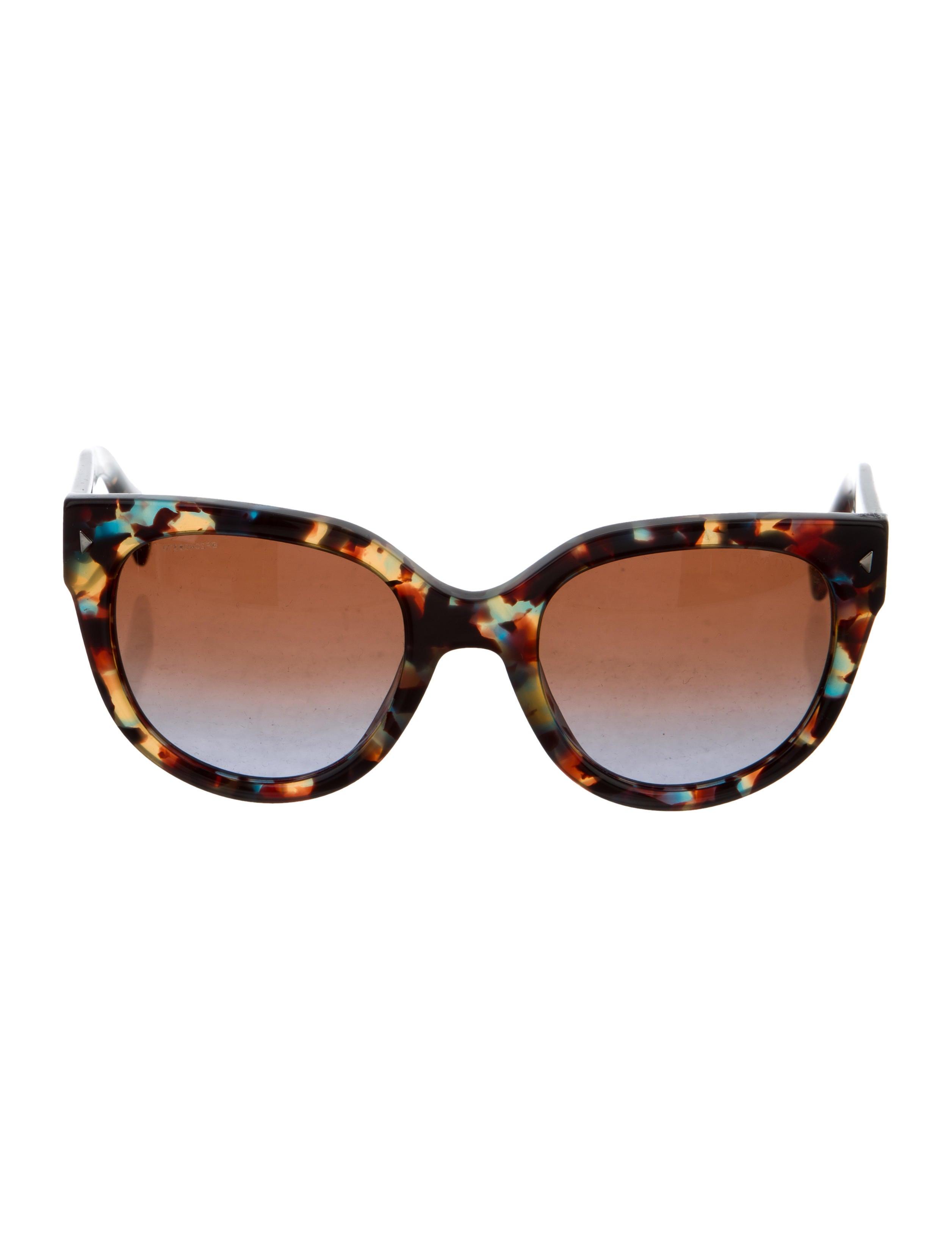 58c5eec9793 Prada Tortoiseshell Cat-Eye Sunglasses - Accessories - PRA186014 ...