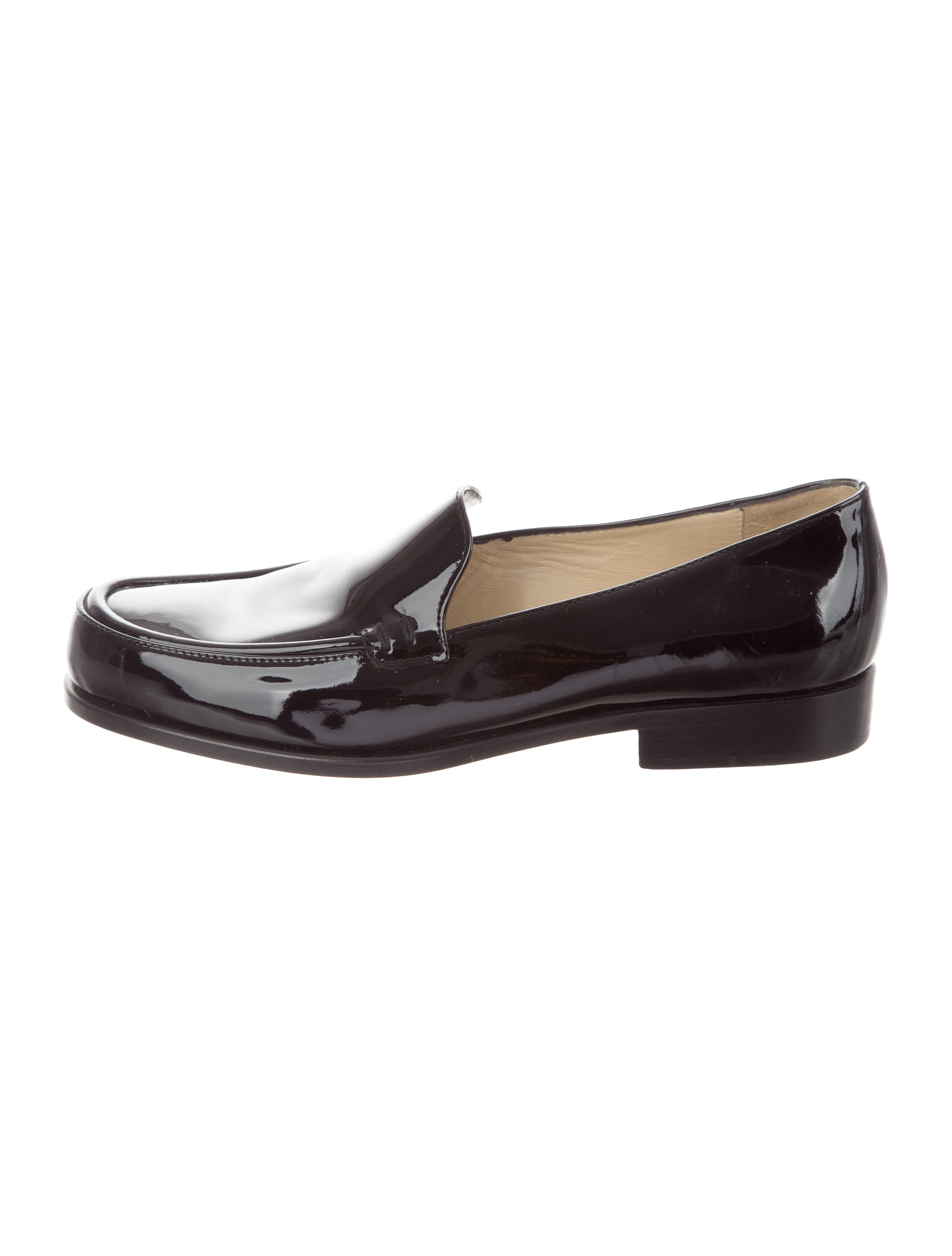 Prada Patent Leather Round-Toe Loafers buy cheap low shipping cheap sale newest the cheapest online new sale online browse sale online Q6vt2G4EN