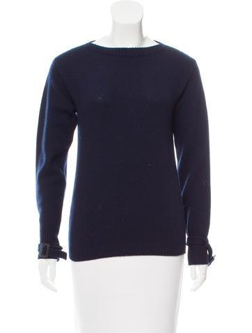 Prada 2017 Wool & Cashmere Sweater None