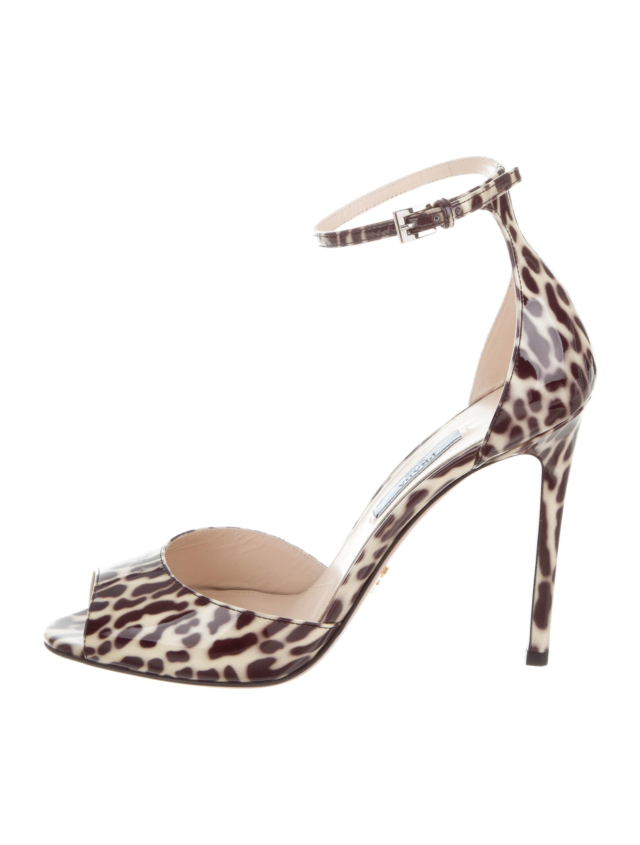 manchester great sale cheap price choice for sale Prada Printed Pointed-Toe Pumps buy cheap order kaGVVLBaje