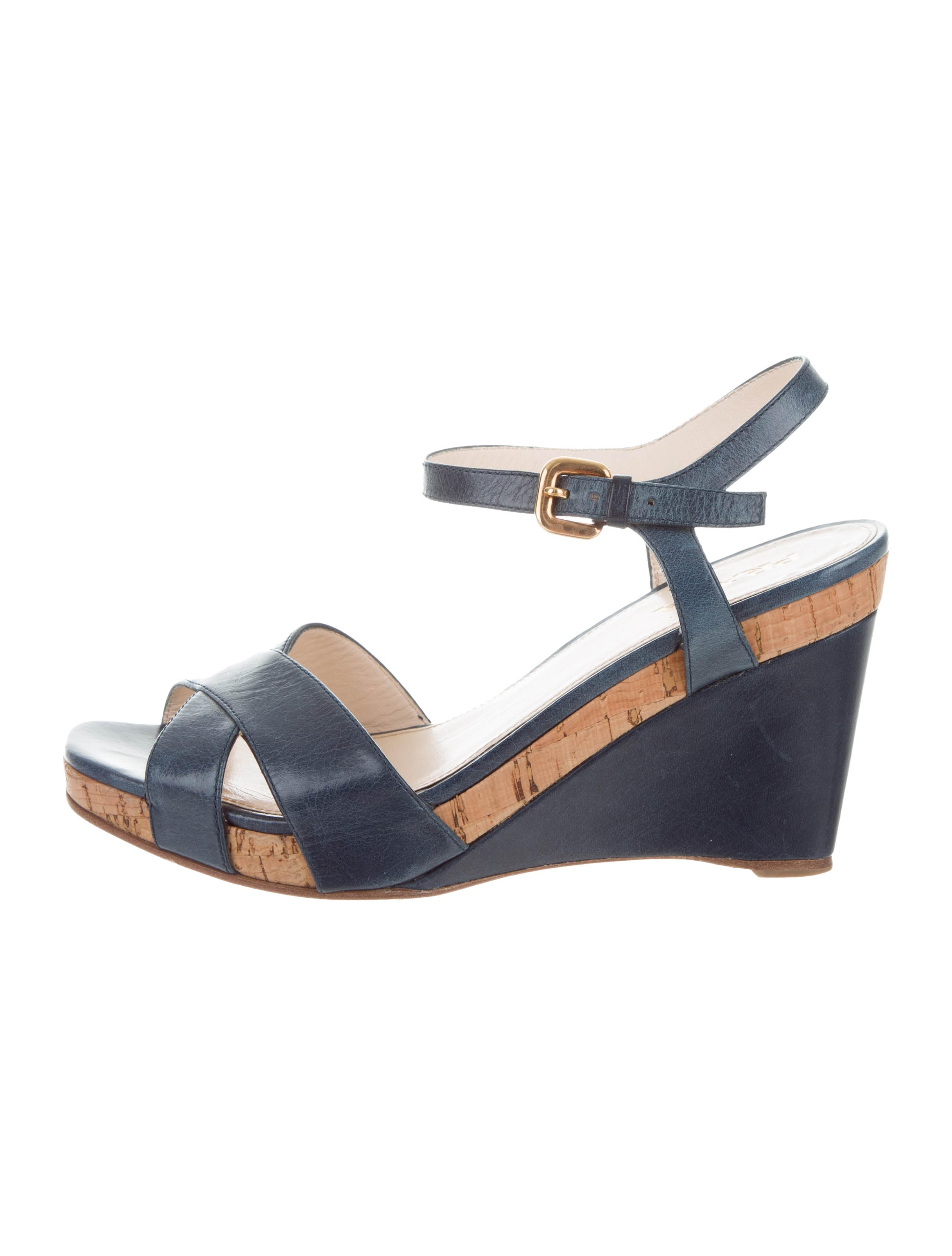 Prada Crossover Platform Wedges pictures for sale outlet 100% authentic for nice cheap price websites sale online buy cheap cost URGw5q9V