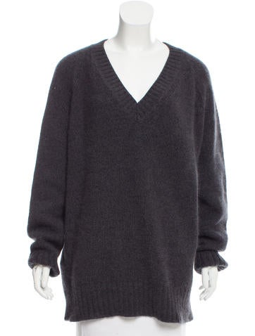 Prada Angora-Blend Sweater None