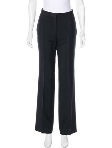 Prada Mohair & Wool-Blend Pants None