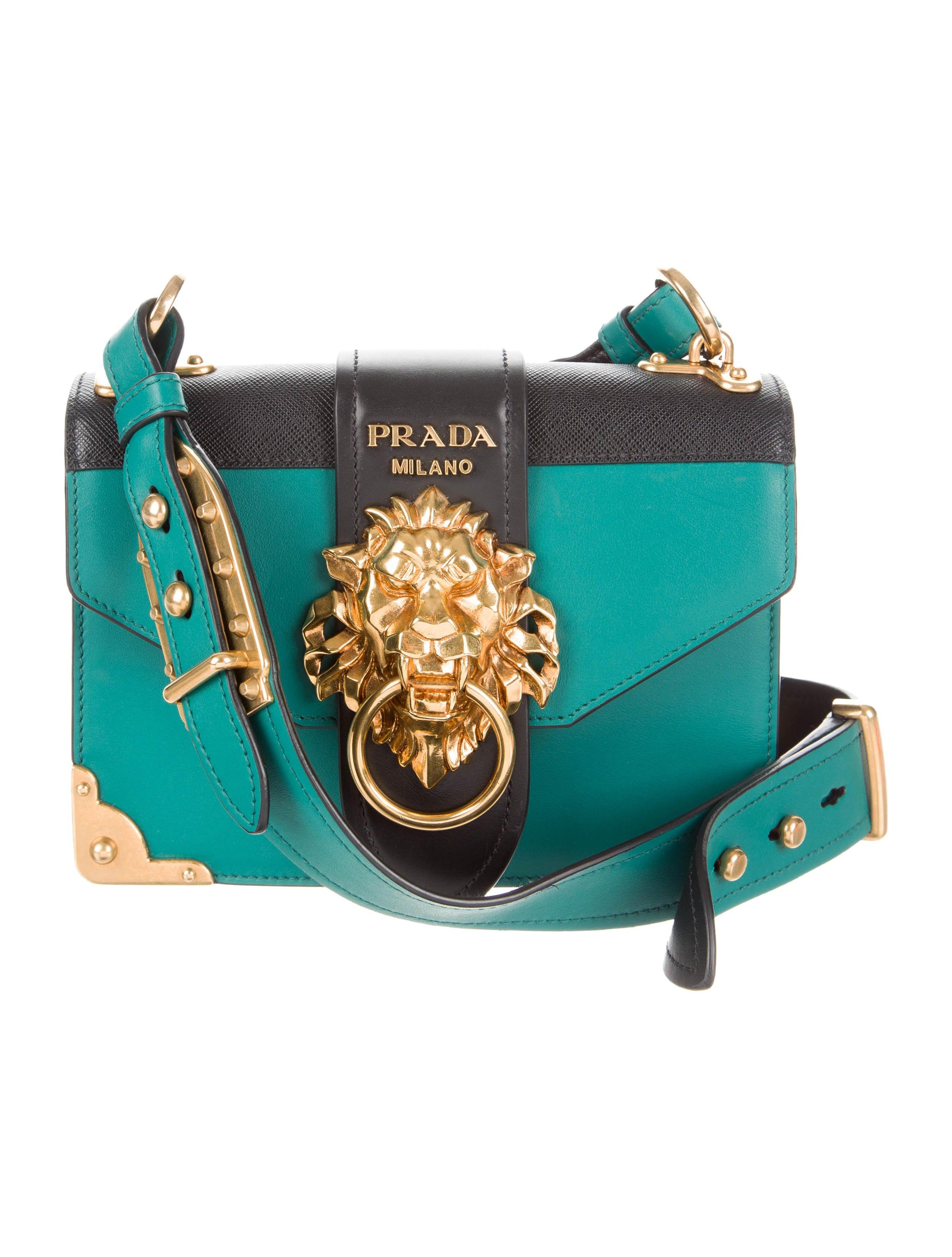 ab97f1e0d13d Prada 2017 Animalier Cahier Bag - Handbags - PRA187591 | The RealReal